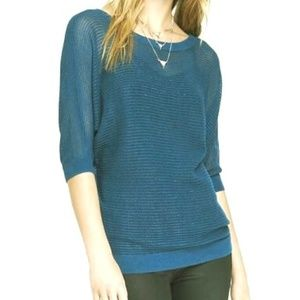 EXPRESS Teal Blue Sweater